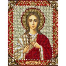 Набор для вышивания бисером Святая Вера, 14x18, Паутинка