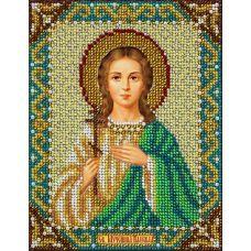 Набор для вышивания бисером Святая Надежда, 14x18, Паутинка