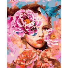 Живопись на холсте Весна в душе женщины, 40x50, Paintboy, GX21955