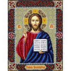 Набор для вышивания бисером Господь Вседержитель, 20x25, Паутинка