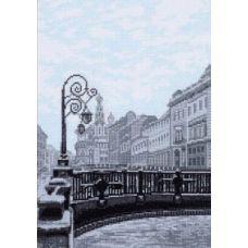 Набор для вышивания Итальянский мост. Санкт-Петербург, 19x27, Палитра