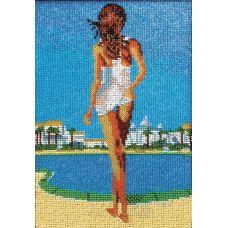 Набор для вышивания Мираж, 18x27, Вышиваем бисером