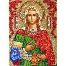 Набор для вышивания Святая Фотиния (Светлана), 19x25,5, Вышиваем бисером