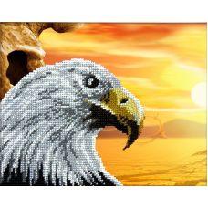 Набор для вышивания Орел, 19x24, Вышиваем бисером