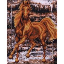 Набор для вышивания бисером Аллюр, 35x44,5, Магия канвы