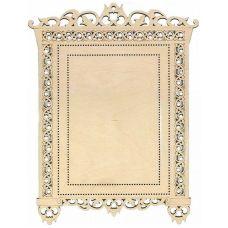 Декоративная рамка наличник №1, 26x34 (17x23; 14x20), Щепка (МП-Студия)