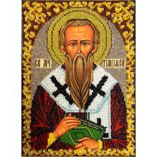 Набор для вышивания Святой Тимофей, 19x26, Вышиваем бисером