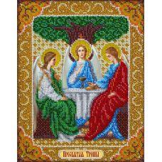 Набор для вышивания бисером Святая Троица, 20x25, Паутинка