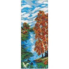 Набор для вышивания бисером Осенний день, 50x19, МП-Студия