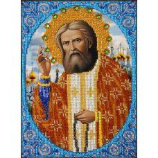 Набор для вышивания Святой Серафим Саровский, 18x22, Вышиваем бисером