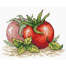 Набор для вышивания крестом Спелый томат, 11x8,5, Жар-Птица (МП-Студия)
