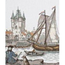 Набор для вышивания Голландский художник, 23x26, Палитра