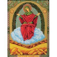 Набор для вышивания бисером Богородица Спорительница хлебов, 20x27, Кроше