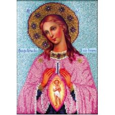 Набор для вышивания Богородица Помощница в родах, 18x26, Вышиваем бисером