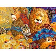 Живопись по номерам Кошачий Арт, 40x50, Paintboy, GX30439