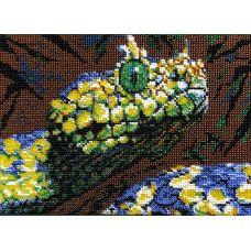 Набор для вышивания Змея, 19x26, Вышиваем бисером