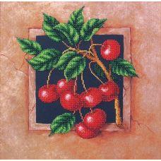 Набор для вышивания бисером Наш сад Вишня, 29,5x29,5, Магия канвы