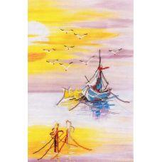 Набор для вышивания Родная гавань №2, 24x36, Овен
