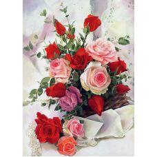 Живопись по номерам Розы для любимой, 40x50, Paintboy, GX4123