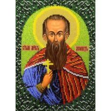 Набор для вышивания Святой Леонид, 19x26, Вышиваем бисером