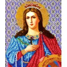 Набор для вышивания Святая Екатерина, 17x21, Вышиваем бисером