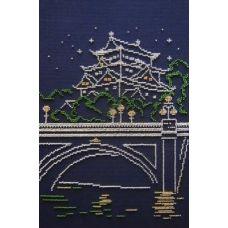 Набор для вышивания бисером Токио, 30x20, МП-Студия