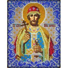 Набор для вышивания Святой Борис, 18x23, Вышиваем бисером