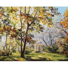 Живопись по номерам Ротонда в парке Екатерингофе, 40x50, Белоснежка