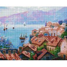 Алмазная мозаика Сказочный мир Адриатики, 40x50, полная выкладка, Белоснежка