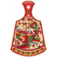 Набор для вышивания крестом Птица счастья, 29x19, Щепка (МП-Студия)