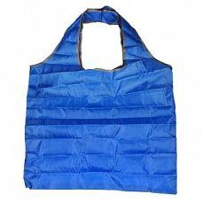 Сумка складная Фиалка голубая, 45x62 (сумка) 8x11x2 (чехол), Белоснежка