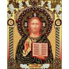 Набор для вышивания хрустальными камнями Господь Вседержитель, 23,5x30,5, Хрустальные Грани