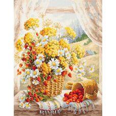 Набор для вышивания крестом Медовый аромат, 32x40, Чудесная игла
