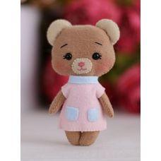 Набор для шитья куклы Медвежонок Джилл, 14 ,Тутти