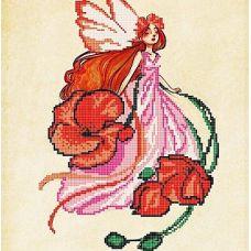 Канва с рисунком Маковка, 30x30, Божья коровка