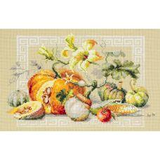 Набор для вышивания крестом Праздник урожая, 30x20, Чудесная игла
