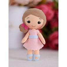 Набор для шитья куклы Малышка Полина, 15 ,Тутти