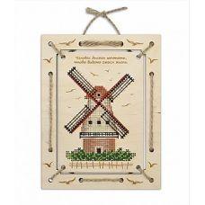 Набор для вышивания крестом Мельница. Панно, 14x18, Овен