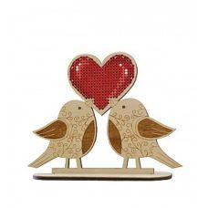Набор для вышивания крестом Крылатая любовь, 14x11, Овен