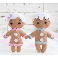 Набор для шитья куклы Веселые печеньки, 13 ,Тутти