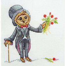 Набор для вышивания крестом Мистер Дарси, 16x16, НеоКрафт