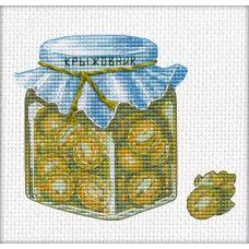 Набор для вышивания крестом Варенье из крыжовника, 9x11, Овен