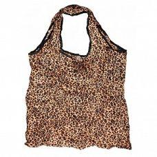 Сумка складная Мечта коричневая, 45x63 (сумка) 9x10x3 (чехол), Белоснежка