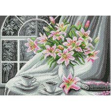 Рисунок на канве Белоснежное утро, 37x49 (28x39), Матренин посад