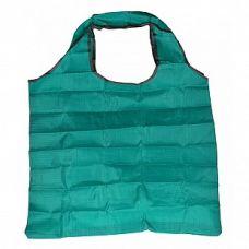 Сумка складная Фиалка бирюзовая, 45x62 (сумка) 8x11x2 (чехол), Белоснежка
