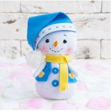 Набор для шитья куклы Снеговик, 16 ,Тутти