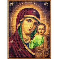 Набор для вышивания крестом Казанская Богородица, 37x49 (29x39), Матренин посад