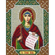 Набор для вышивания бисером Святая Наталия, 14x18, Паутинка
