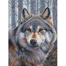 Набор для вышивания крестом Волк, 36x45, Белоснежка