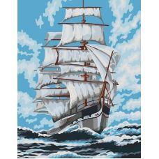 Живопись по номерам Попутный ветер, 40x50, Paintboy, GX22308